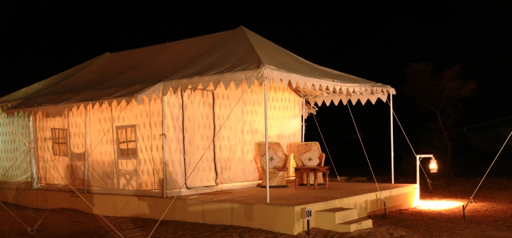 Rajasthan Desert Safari Tents
