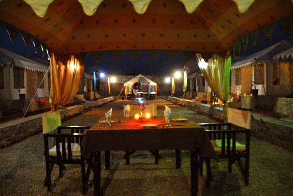Jaisalmer Desert Safari Tents with Dinner